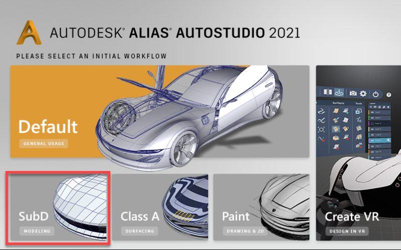 Phần mềm thiết kế bằng máy tính Autodesk Alias