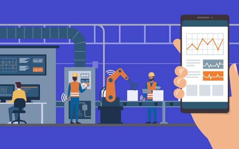 Ứng dụng IoT trong công nghiệp - sản xuất