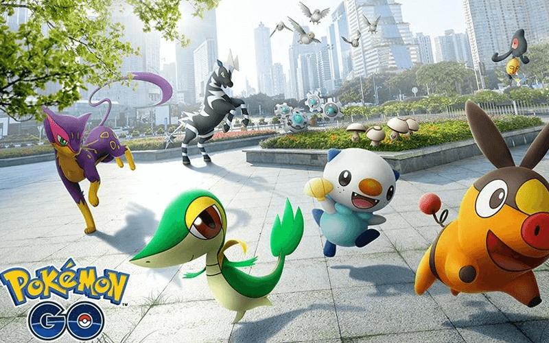 Trò chơi Pokemon ứng dụng công nghệ AR